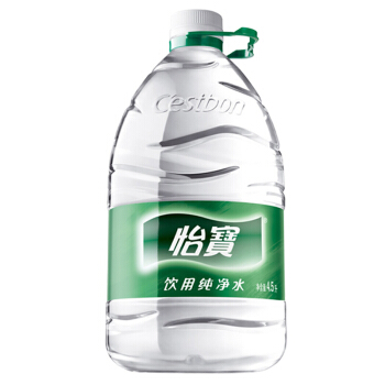 怡宝饮用纯净水4.5L*4/箱