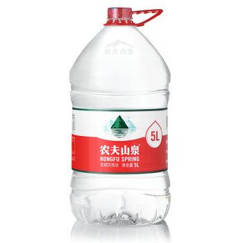 农夫山泉5L*4/箱一次性瓶装