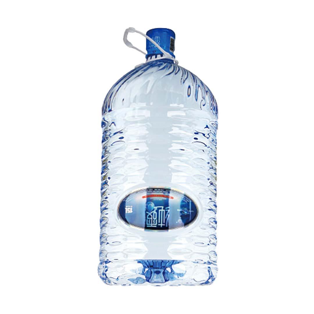 纯露一次性桶装天然泉水15L