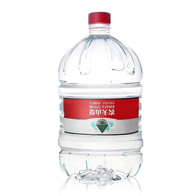 【10桶起送】农夫山泉12L一次性桶装水,无需桶押金,买10桶送到家为11桶