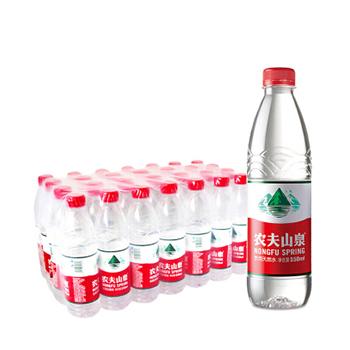农夫山泉550ml*28瓶/箱,水质天然源于自然,整箱起送。