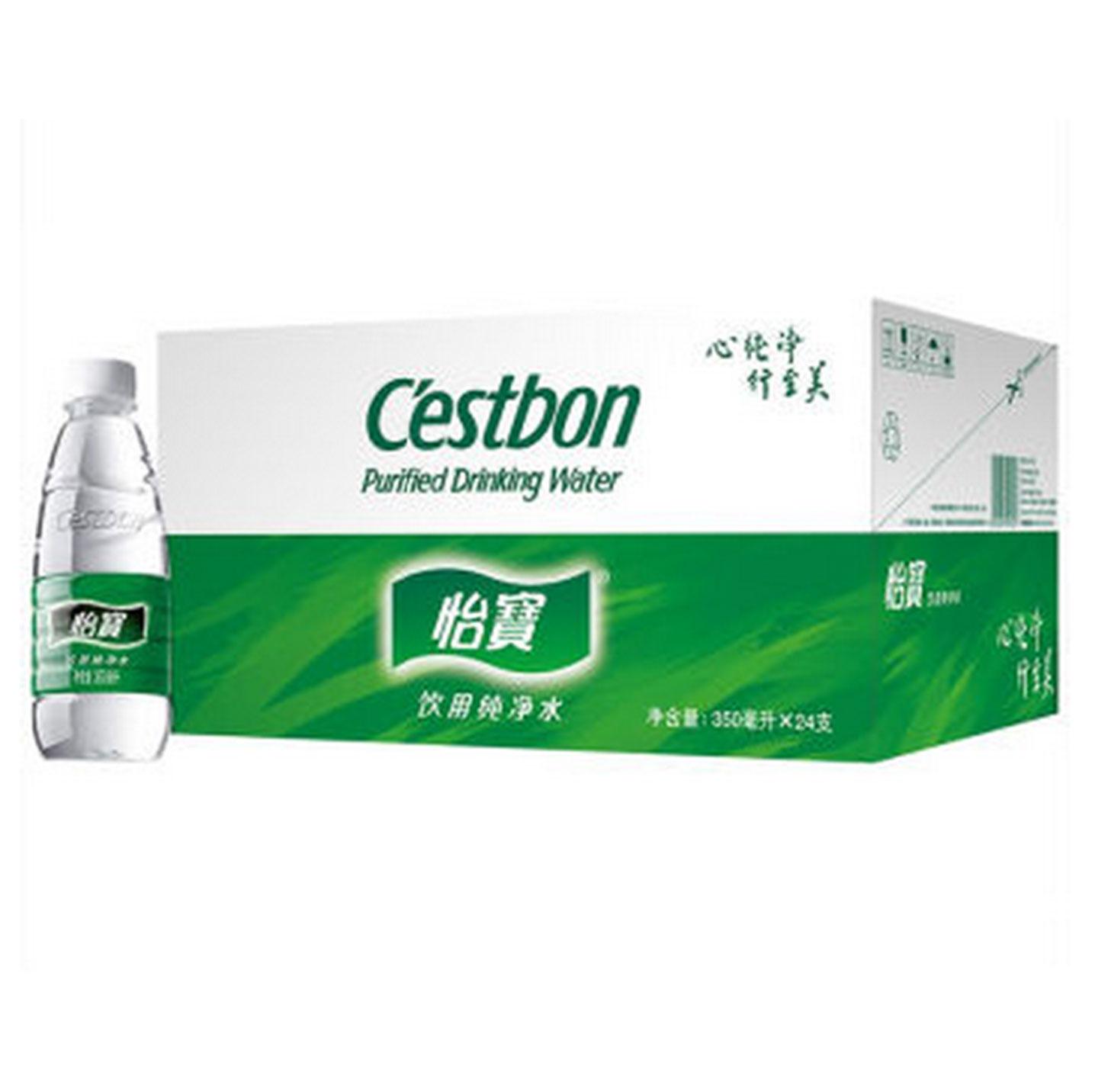 怡宝  饮用纯净水350ml*24瓶  整箱