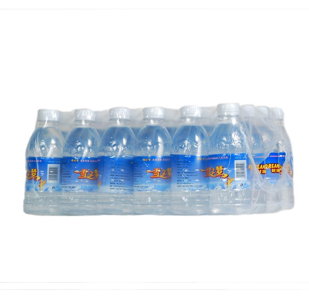 雪之梦 饮用纯净水380ml*24瓶  整箱