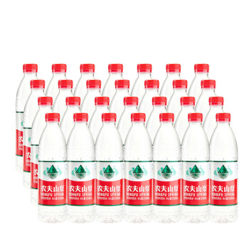 农夫山泉 饮用天然弱碱水矿泉水550ml*28瓶 膜装