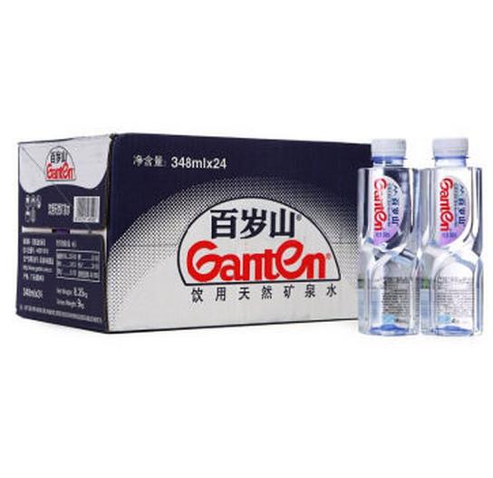 百岁山 饮用天然矿泉水384ml*24瓶 整箱